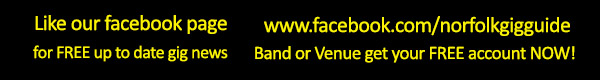 For the best in LIVE music in Norfolk & Suffolk